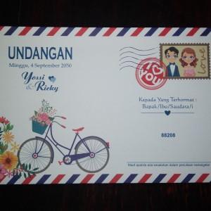 Harga cetak undangan pernikahan khitanan cepat murah free kartu | HARGALOKA.COM