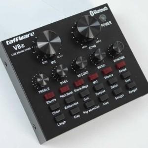 Harga new soundcard v8 bluetooth audio usb external   HARGALOKA.COM