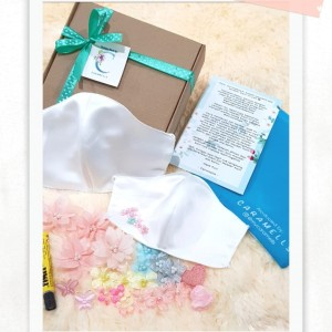 Harga diy masker kain aktivitas ibu anak menghias masker | HARGALOKA.COM
