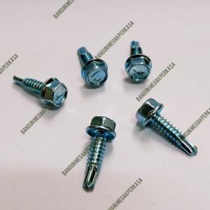 Harga baut sekrup baja ringan 10x19 mm 100 pcs | HARGALOKA.COM