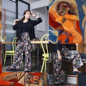 Harga celana kulot motif celana panjang | HARGALOKA.COM