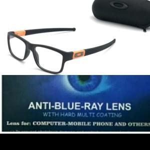 Harga kacamata pria gratis lensa blueray uv420 minus clylinder | HARGALOKA.COM