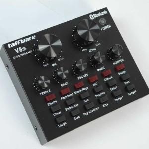 Harga taffware v8 bluetooth audio usb external soundcard   HARGALOKA.COM