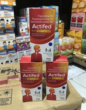 Harga obat batuk actifed merah 60   HARGALOKA.COM
