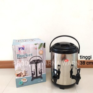 Harga water jug stainless 8 liter tempat minum air dingin dan | HARGALOKA.COM