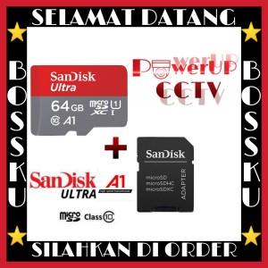 Harga promo sd memory card sandisk 64gb ultra | HARGALOKA.COM