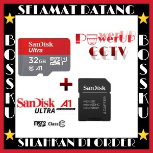 Harga promo sd memory card sandisk 32gb ultra | HARGALOKA.COM