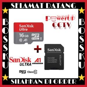Harga promo sd memory card sandisk 16gb ultra | HARGALOKA.COM