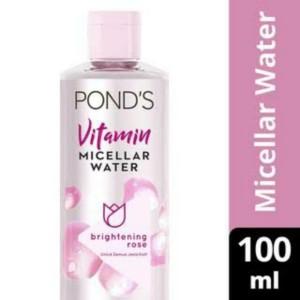 Harga ponds micellar water pembersih wajah vitamin brightening rose | HARGALOKA.COM