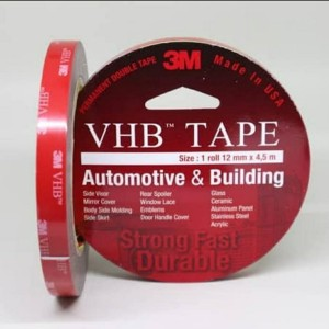 Harga 3m vhb double tape 12 mm x 4 5 m asli original merah 3 | HARGALOKA.COM