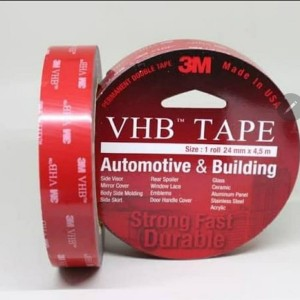 Harga 3m vhb double tape 24 mm x 4 5 m asli original merah 3 | HARGALOKA.COM