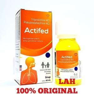 Harga actifed   obat pilek dan alergi pernafasan hidung kuning   HARGALOKA.COM