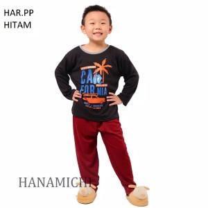 Harga setelan baju tidur anak cowok cewek lengan panjang har pp murah   size | HARGALOKA.COM