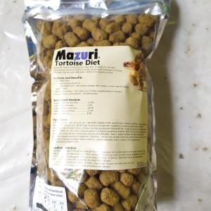 Katalog Mazuri Tortoise Diet 250gr Katalog.or.id