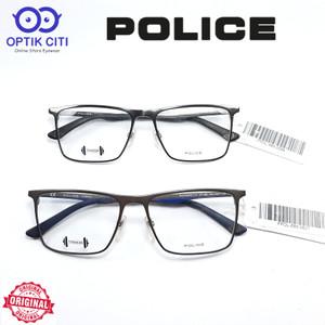 Harga frame kacamata pria police pure titanium blackbird ti3 vpl685   HARGALOKA.COM