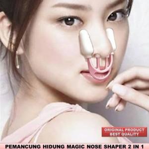 Harga alat pemancung hidung permanen asli shaper 2 in 1 original   HARGALOKA.COM