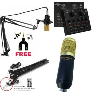 Harga paket mic taffware bm 800 sound card v8 stand mic   | HARGALOKA.COM