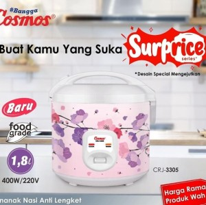 Harga rice cooker cosmos 1 8 liter crj | HARGALOKA.COM