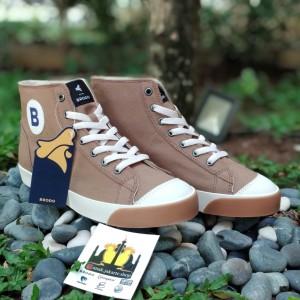 Harga sepatu brodo vantage high mocha   cokelat | HARGALOKA.COM