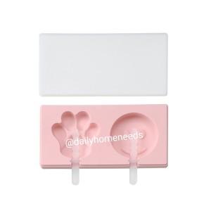 Harga cetakan popsicle es krim yoghurt lucu isi 3 bahan silicone     HARGALOKA.COM