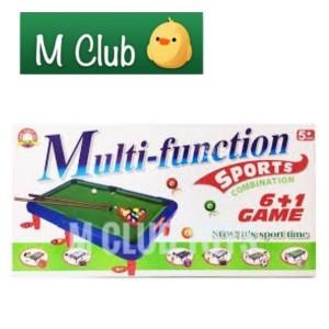 Harga mainan olahraga multifungsi 6in1 billiard hockey golf sepakbola | HARGALOKA.COM
