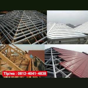Harga renovasi atap bongkar atap lama pemasangan rangka baja   HARGALOKA.COM