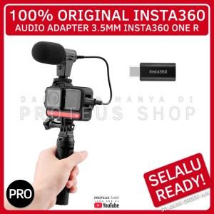 Harga original audio adapter mic 3 5mm insta360 one r colokan | HARGALOKA.COM