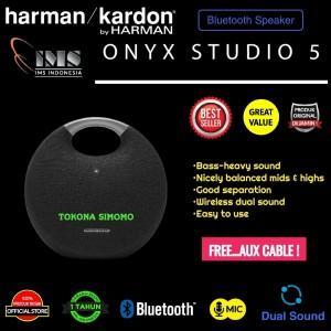 Harga harman kardon onyx 5 onyx studio 5 bluetooth wireless speaker original   | HARGALOKA.COM