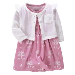 Harga setelan carters baju bayi cewe dress baby girl   HARGALOKA.COM