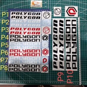 Harga sticker polygon stiker sepeda | HARGALOKA.COM