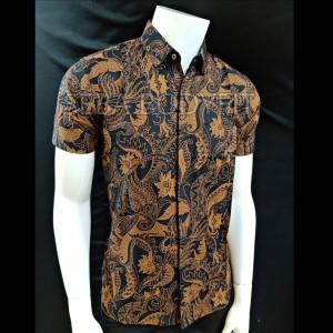 Harga batik regular fit premium seba r188208   cokelat | HARGALOKA.COM