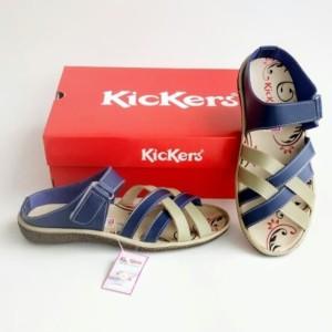 Harga sepatu cewe sandal cewe sepatu kickers women kode 016   biru | HARGALOKA.COM