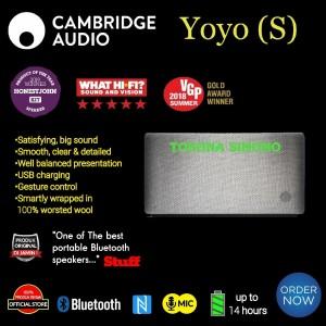 Harga cambridge yoyo s yoyo s hi fi portable bluetooth speaker original   | HARGALOKA.COM