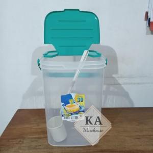 Harga aquarium es buah 30 l toples kotak es buah aquarium es kelapa cargo     HARGALOKA.COM
