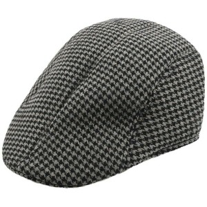 Harga houseofcuff topi painter topi pelukis painter hat dark houndstooth   abu  abu | HARGALOKA.COM