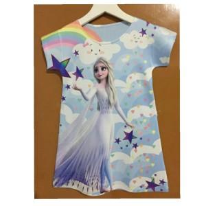 Harga dress anak frozen baju frozen frozen | HARGALOKA.COM