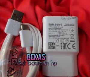 Harga charger samsung a50 a30s a20 m50 m30s s10 original bawaan   HARGALOKA.COM