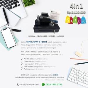 Harga paket komputer kasir toko murah 4in1 software printer scanner | HARGALOKA.COM