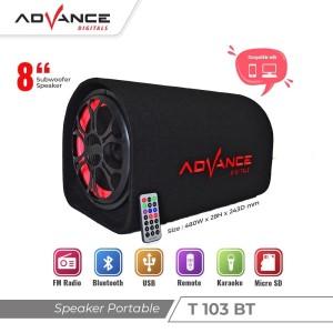 Harga speaker 8 34 bluetooth mp3 advance | HARGALOKA.COM