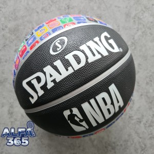 Harga bola basket spalding nba logo ball official rubber outdoor | HARGALOKA.COM