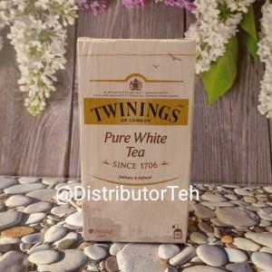 Harga twinings pure white tea 25 sachets teh putih | HARGALOKA.COM