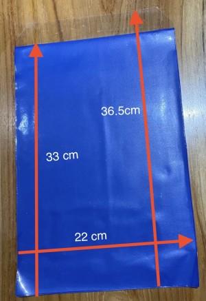 Harga plastik ijazah sampul dokumen plastik nava biru kantong | HARGALOKA.COM