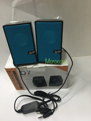 Harga speaker komputer d7 k one speaker laptop speaker   HARGALOKA.COM