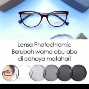 Harga kacamata minus wanita cat eyes gratis lensa photocromic | HARGALOKA.COM