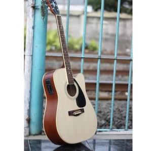 Harga gitar akustik elektrik yamaha f310 natural equalizer | HARGALOKA.COM