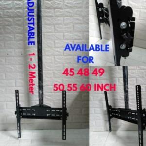 Harga bracket celling plafon tv 43 45 48 49 50 55 60 inch 2 | HARGALOKA.COM
