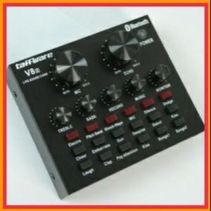Harga taffware bluetooth audio usb external soundcard live broadcast   HARGALOKA.COM