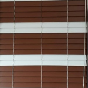 Harga onna gold   uv blinds 50mm mono system tirai kayu outdoor custom   string | HARGALOKA.COM