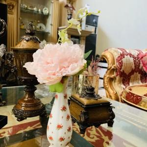 Harga vas bunga saint james the rose cantik indah mewah | HARGALOKA.COM