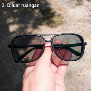 Harga kacamata safety lensa photocromic lensa normal minus   HARGALOKA.COM